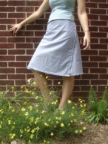 wrap skirt 002