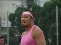 これでもか、ピンクのタケちゃんw