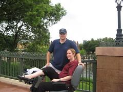 IMG_3115 (drjeeeol) Tags: epcot jill scooter pregnant triplets chaz 19weeks
