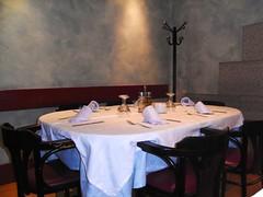 Comedor del Restaurante Marisquería Rafa