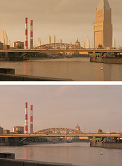 Matte painting compare