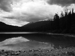 Quiet Lake near Jasper downtown (joadc) Tags: river athabasca