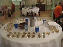Ministry of Rum Rum Tasting Set Up