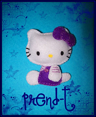 ♥ Hello Kitty ♥ (PrenD-T♥) Tags: cute hellokitty kitty felt kawaii feltro fieltro prendt