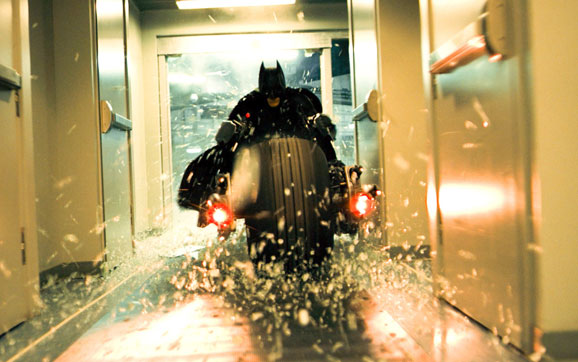 Imagem do filme do Batman 'The Dark Knight'