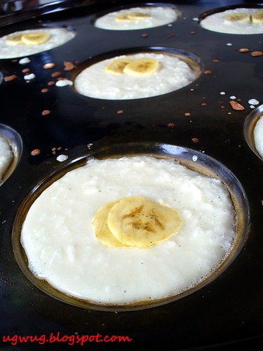 Apom Balik - Banana