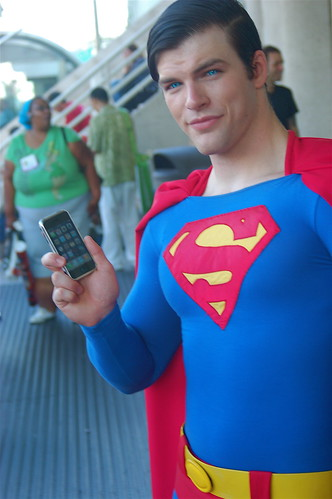 comic con 2008: super smart Phone