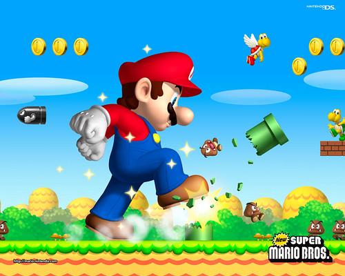 mario bros wallpaper. Mario Wallpaper