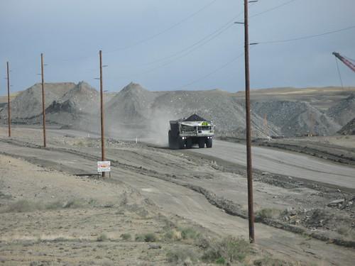 navajo mine kress bottom dump coal hauler a photo on flickriver