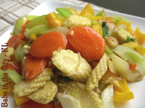 Quick Vege Stir-fry