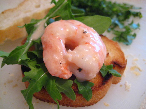Prawn Cocktail on Toasted French Loaf
