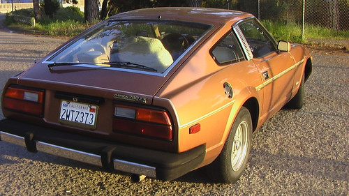 280Z butt golden hour