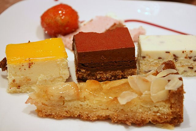 Small selection of French desserts