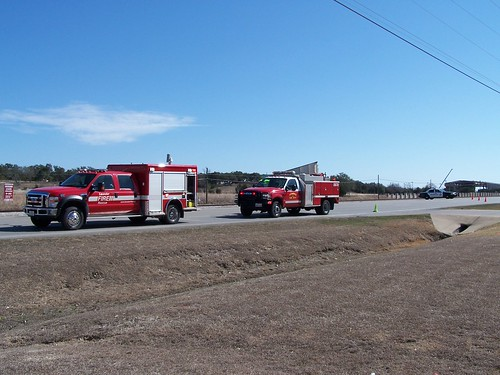 Leander, TX Fire Brush Truck 2672, Command 2602 and