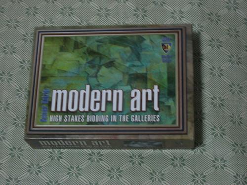 Modern Art: the box