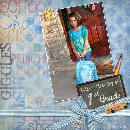 082008 Leila First Grade