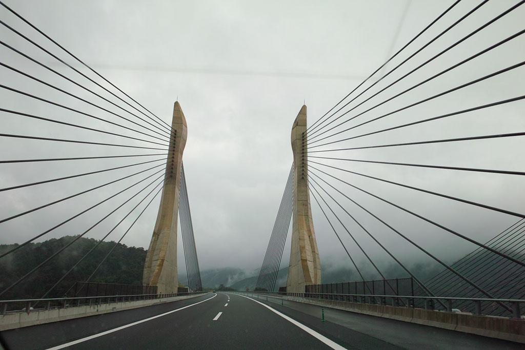 Oumi-Otori Bridge on Shin-Meishin Expressway