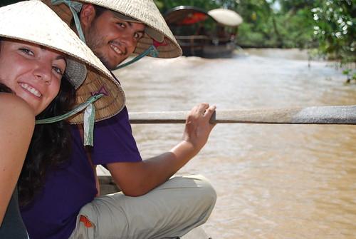 Vero i Pau en el Mekong