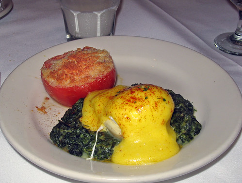 Breakfast at Brennan's: Eggs  Sardou