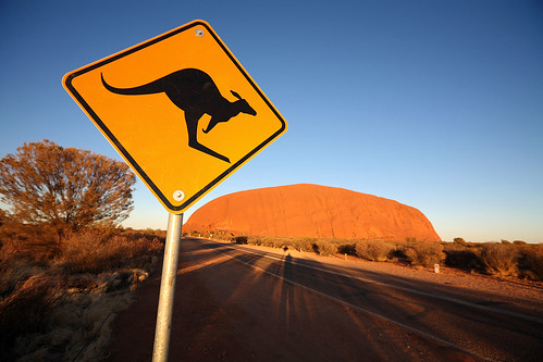 A strong candidate for most photographed road sign in Australia by dmmaus.