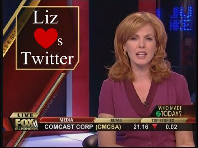 Liz Claman Is Atwitter And We're Excited About It