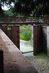 Lock on the Delaware Canal - New Hope, PA (jrozwado) Tags: usa pennsylvania buckscounty newhope canal lock delawarecanal nationalhistoriclandmark