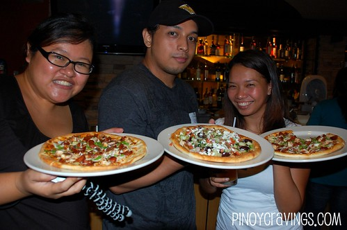 California Pizza Kitchen Make your Own Pizza Event