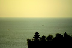 temple over the Indian Ocean (Farl) Tags: cliff sunset tanjungmebelu mebelu bukit jimbaran bali indonesia colors travel