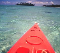 Rarotonga Canoe Ride