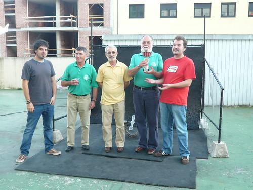 Campións no I Torneo de Chave As Píntegas
