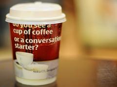 Ya Kun Nokia E71 Coffee Conversation Starter