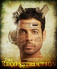 The Reconstruction (aknacer) Tags: portrait self movie poster aaron nace 365days strobist trianglestrobist aknacer aaronnace