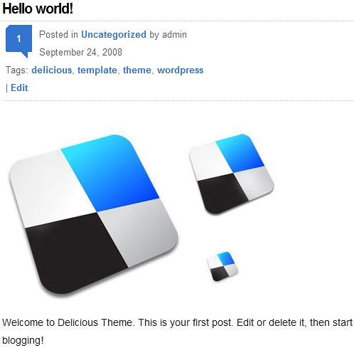 WordPress的Delicious风格主题下载-WP迷死