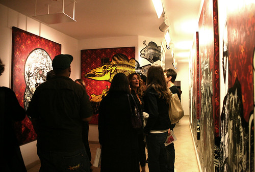 Vernissage MCITY+ORTICANOODLES - Stencil Art New Pop in the Urban Culture