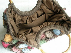 wool cute Rose bag
