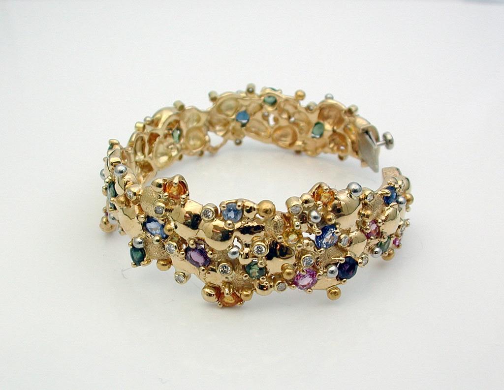 Multi-Sapphire Bracelet