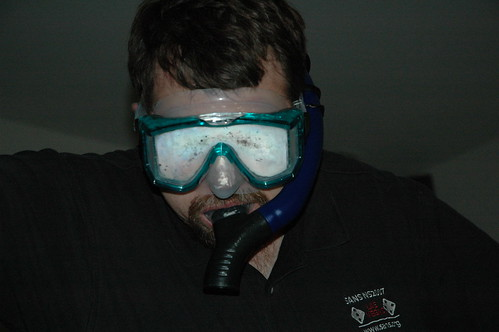 New snorkle and mask