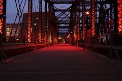 Northern Avenue Bridge, illuminaleBoston 2008 (drummerboy1214) Tags: autumn allrightsreserved 10millionphotos illuminaleboston enlightedbridge