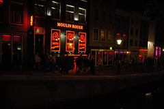 Red Light District at night (owen4green) Tags: windows people amsterdam d70 hookers netherlandsredlightdistrictatnight