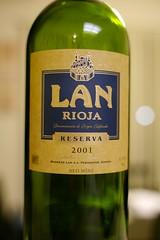 2001 Bodegas LAN Rioja Reserva
