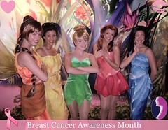 "Tink Says ""Think Pink!"" for Breast Cancer Awareness Month"