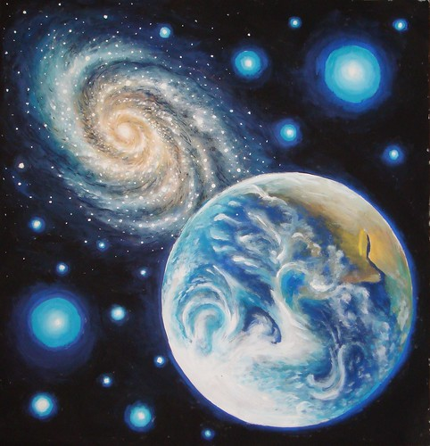Earth_and_a_galaxy
