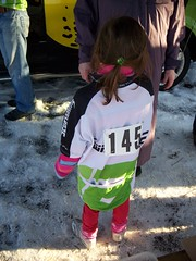 Lily's first bike race
