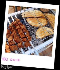 BBQ time~ (pinkyia) Tags: bbq meat grill pinkyia pinkroro polaroidpicnik
