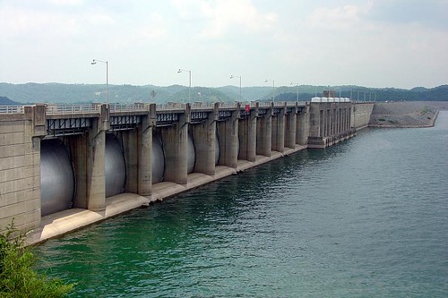 Wolf Creek Dam - U.S. 127, near Manntown, Kentucky
