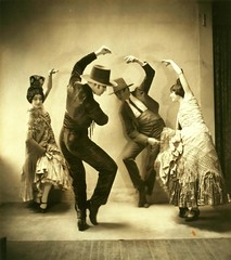 Ted Shawn and Denishawn Dancers in Pas de Quatre or Sevillan... (New York Public Library) Tags: 1920s espaa dance sevilla spain unitedstates newyorkpubliclibrary andalucia manila baile flamenco moderndance sevillana mantn peineta tedshawn sevillanos photographicprints xmlns:dc=httppurlorgdcelements11 pasdequatre dc:identifier=httpdigitalgallerynyplorgnypldigitalidden1506v ernestineday charlesweidman choreographicwork mauricegoldberg jeordiegraham