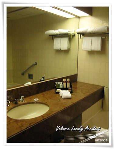 馬可孛羅港威酒店浴室