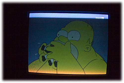 Homer is hungry
