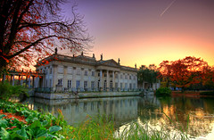 Palace on the Water (Qba from Poland) Tags: autumn poland polska warsaw hdr warszawa azienki 3xp supershot photographyrocks mywinners anawesomeshot goldstaraward hccity discoveryphotos damniwishidtakenthat royalbathspark qbafrompoland