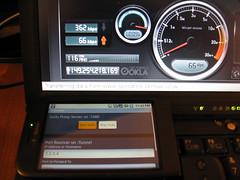 Speedtest.net T-mobile G1 3G ~30 kB/sec
